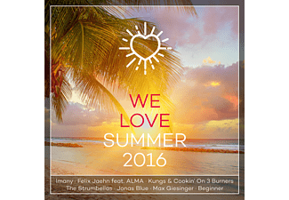 VARIOUS - We Love Summer 2016 - (CD)