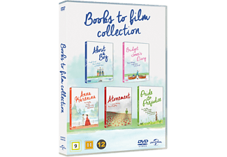 Books to Film Box Böcker DVD