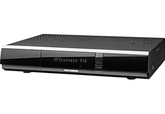 KATHREIN UFSCONNECT 916SW Receiver (HDTV, PVR-Funktion, Twin Tuner, DVB-S, DVB-S2, Schwarz)