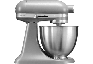 KITCHENAID 5KSM3311XEFG Mini, Küchenmaschine, Grau Matt