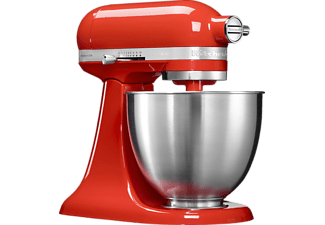 KITCHENAID 5KSM3311XEHT Mini, Küchenmaschine, 250 Watt, Rot