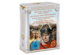 Monumental Collection - Heldenhafte Kämpfe im alten Rom - (DVD)