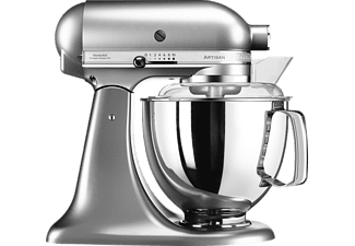 KITCHENAID 5KSM175PSENK, Küchenmaschine, Grau Metallic