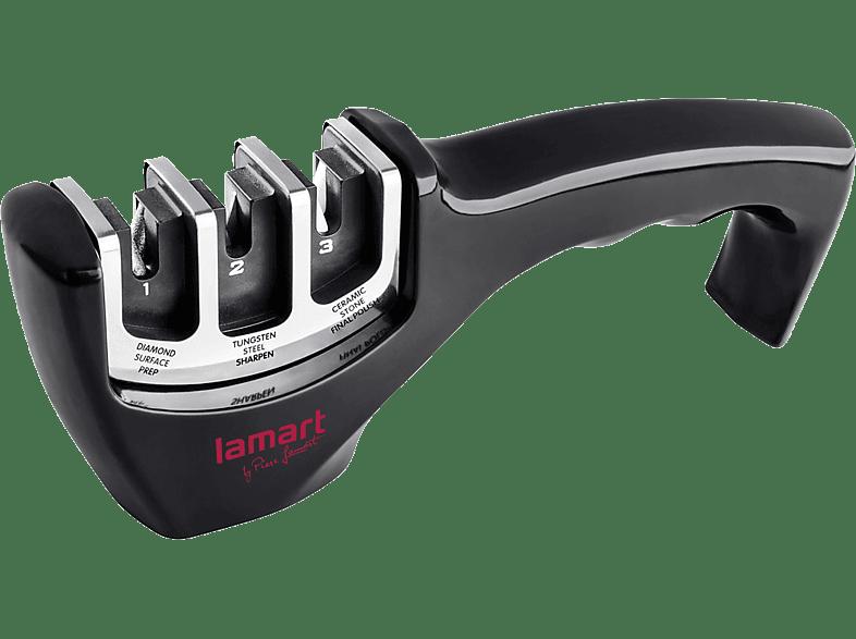 LAMART Ακονιστήρι Μαχαριών 3 Επιπέδων (LT2058)  μικροσυσκευές   φροντίδα σκεύη κουζίνας αξεσουάρ μαγειρικής