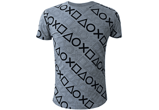 Playstation Controller Buttons all over T-Shirt Größe M