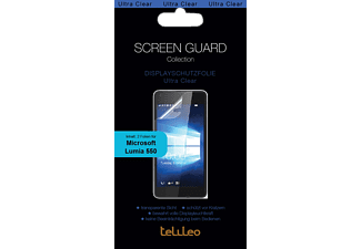 TEL3692  Microsoft Lumia 550 Kunststoff PET Transparent