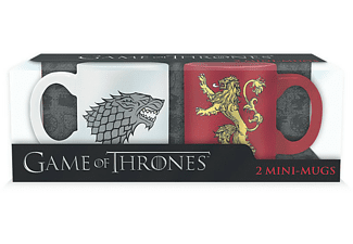 Game of Thrones - Mini-Tassen 2er Set Stark & Lannister