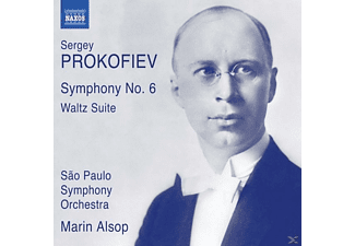 Marin/sao Paulo So Alsop - Sinfonie 6/Waltz Suite - (CD)