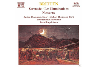 BOURNEMOUTH SINF., Thompson/Lloyd-Jones/BOSI - Serenade/Les Illuminations/+ - (CD)
