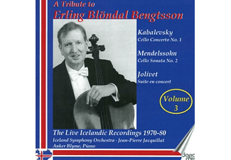 Bengtsson/Jacquillat/Blyme/Iceland SO - A Tribute to Erling Blöndal Bengtsson,vol.3 - (CD)