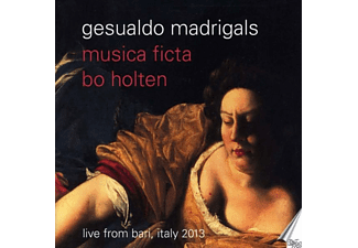 Bo/musica Ficta Holten - Madrigale - (CD)