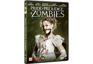 Pride and Prejudice and Zombies Drama DVD