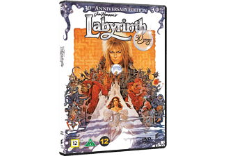 Labyrinth 30th Anniversary Edition Äventyr DVD