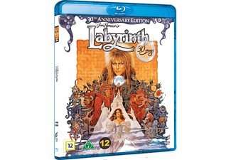 Labyrinth 30th Anniversary Edition Äventyr Blu-ray