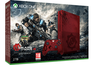 MICROSOFT Xbox One S 2TB Konsole - Gears of War Limited Edition Bundle