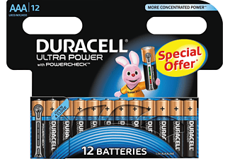 DURACELL Ultra Power AAA 12-pack