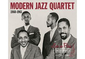 The Modern Jazz Quartet - Live In Paris 1960-1961 - (CD)