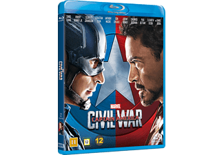 Captain America: Civil War Äventyr Blu-ray