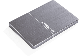 FREECOM mHDD Slim Mobile Hard Drive 1TB Grijs