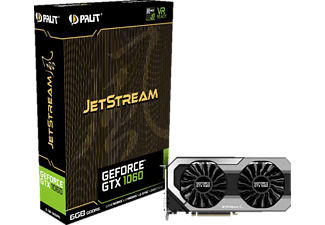 PALIT Geforce GTX 1060 JetStream 6GB (NE51060015J9J)( NVIDIA, Grafikkarte)