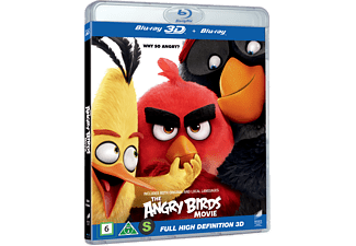 The Angry Birds Movie Animation / Tecknat 3D BD & 2D BD, Blu-Ray