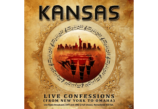 Kansas - Live Confessions (From New York To Omaha) [CD]