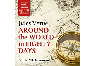 Around The World In 80 Days - 6 CD - Literatur/Klassiker