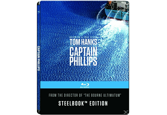 Captain Phillips (Steelbook Edition/Media Markt Exklusiv) [Blu-ray]