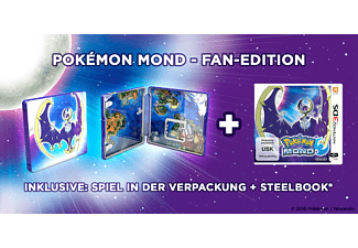Pokémon Mond Fan-Edition mit Steelbook [Nintendo 3DS]