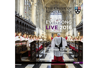 Douglas Tang, Tom Etheridge, King's College Choir - Evensong Live 2016 - (CD)