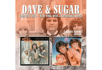 Dave & Sugar - Greatest Hits/New York Wine & Tennessee Shine [CD]
