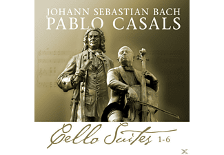 BACH, J.S. / CASALS, PABLO, Casals Pablo - Bach Cello Suites 1-6 [CD]