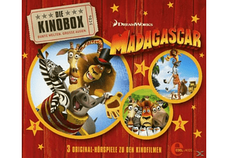 Madagascar - Fan-Edition (Hörspiele z.Kinofilm 1-3) - (CD)