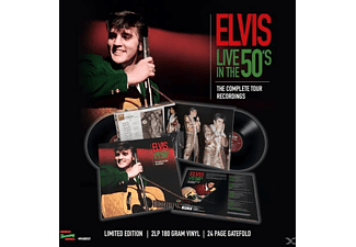Elvis Presley - Live In The 50?S-The Complete Tour Recordings [LP + Buch]