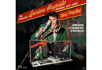 Elvis Presley - The Complete Louisiana Hayride Archives 1954 ? 195 [LP + Buch]