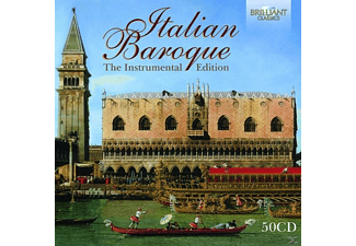 VARIOUS - Italian Baroque:The Instrumental Edition [CD]