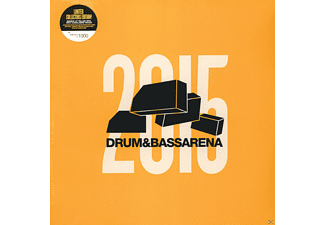 VARIOUS - DRUM & BASS ARENA 2015 (+MP3/YELLOW/LTD.) - (LP + Download)