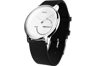 WITHINGS Activité STEEL, Activity Tracker, Schwarz/Weiß