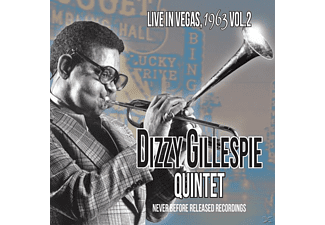 Dizzy Quintet Gillespie - Live In Vegas,1963 Vol.2 - (CD)