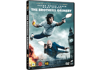 The Brothers Grimsby Komedi DVD