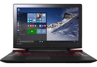 LENOVO ideapad Y700, Notebook mit 15.6 Zoll Display, Core™ i7 Prozessor, 16 GB RAM, 512 GB SSD, GeForce GTX 960M, Schwarz