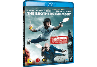 The Brothers Grimsby Komedi Blu-ray