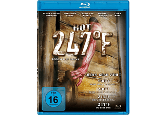 HOT 247°F-Todesfalle Sauna - (Blu-ray)