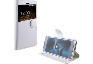 "VOLTE-TEL Θήκη Huawei P9 Lite 5.2"" Leather-Tpu View Book Stand White - (5205308168567)"