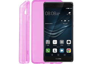 "IDOL 1991 Θήκη Huawei P9 Plus 5.5"" Ultra Thin Tpu 0.3mm Pink - (5205308169359)"