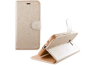 "VOLTE-TEL Θήκη LG K8 K350n 5.0"" Leather Gold-Tpu Book Stand - (5205308168833)"