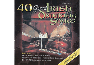 VARIOUS - 40 Great Irish Drinking Songs - (CD)