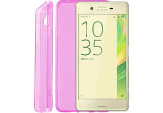 "IDOL 1991 Θήκη Sony Xperia X F5121 5"" Ultra Thin Tpu 0.3mm Pink - (5205308169380)"