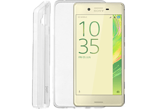 "IDOL 1991 Θήκη Sony Xperia X F5121 5"" Ultra Thin Tpu 0.3mm White - (5205308169366)"