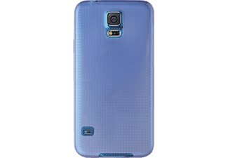 PURO 097508 Backcover Samsung Galaxy S5, Galaxy S5 Neo Thermoplastisches Polyurethan Blau